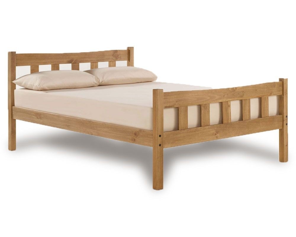 Havana Rustic Double Bed Frame