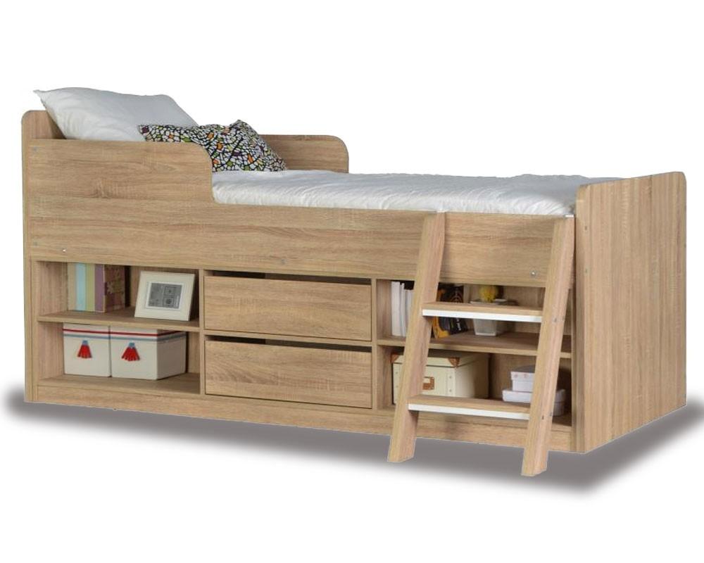 Helix Oak Cabin Bed