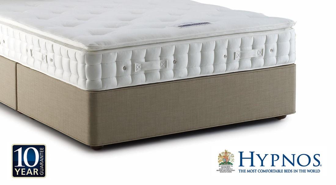 3 Quarter Bed Mattress Topper : Hypnos emerald pillow top three quarter mattress