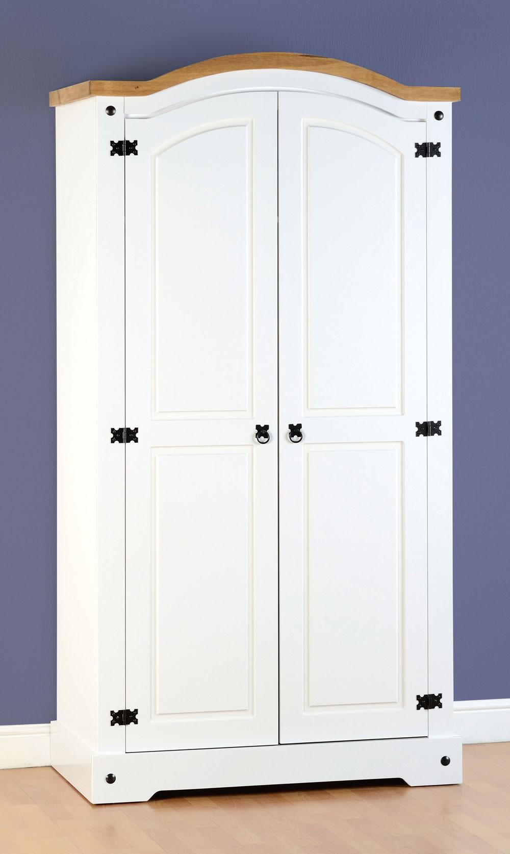 Corona White 2 Door Robe