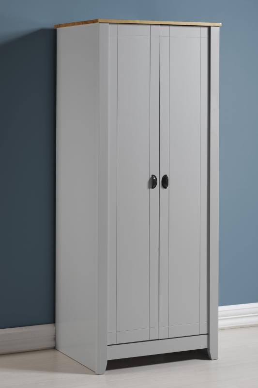 London Bedroom Furniture 2 Door Wardrobe