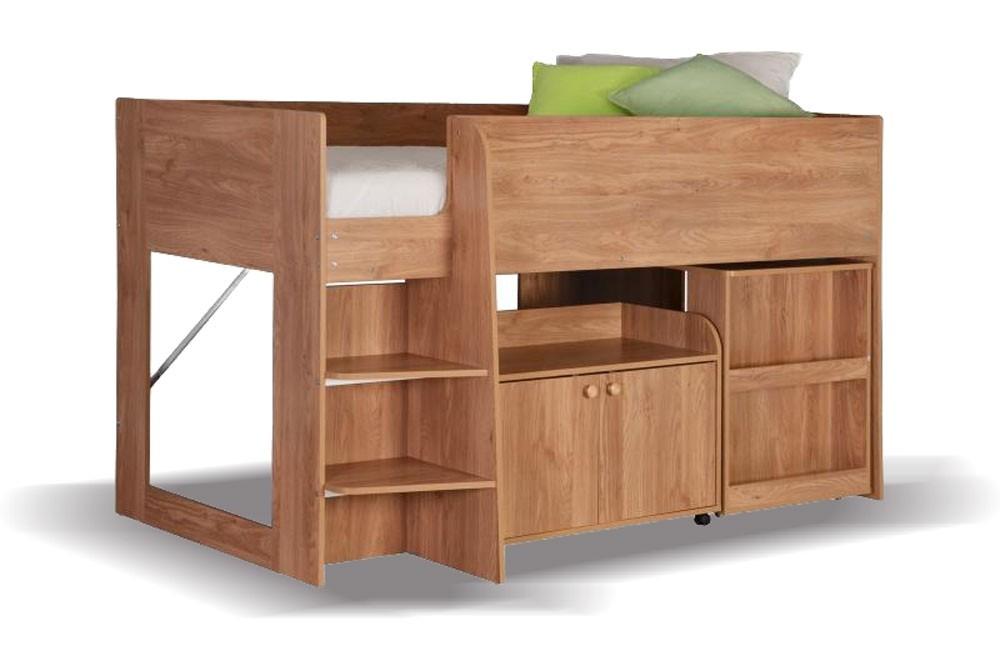 Astral Oak Cabin Bed