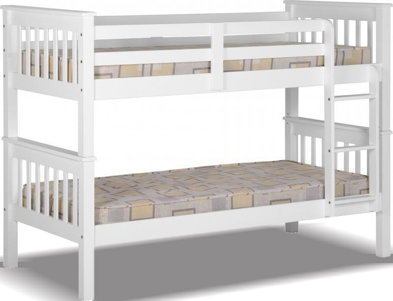 Neptuno White Bunk Bed
