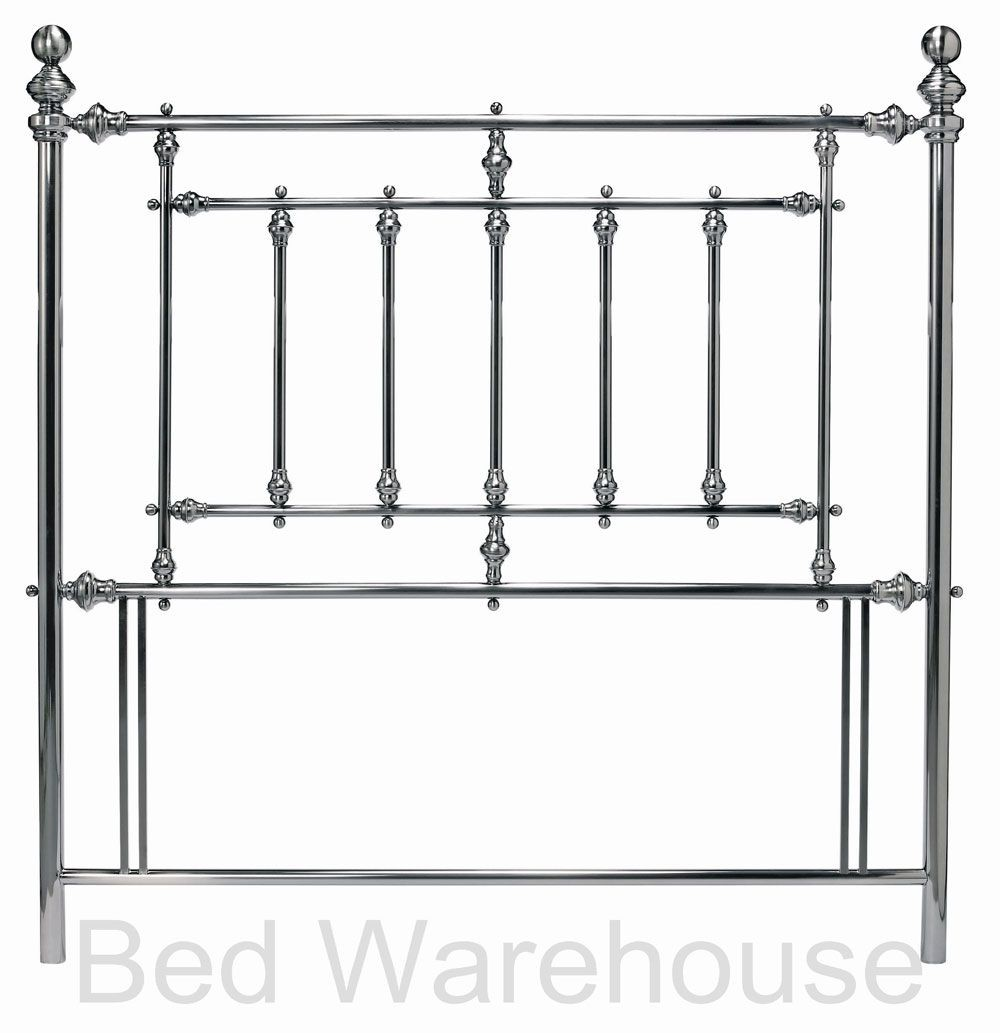 Bentley Designs Imperial Antique Nickel Kingsize Headboard