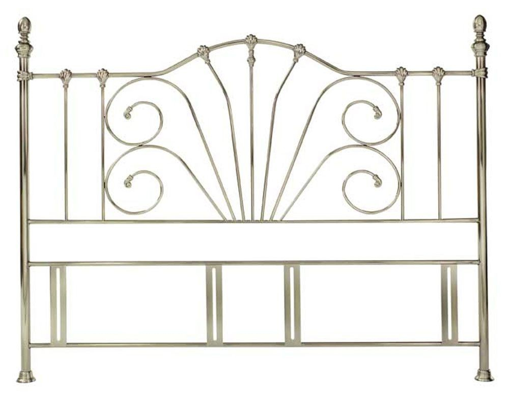 Jessica Antique Brass Super Kingsize Headboard