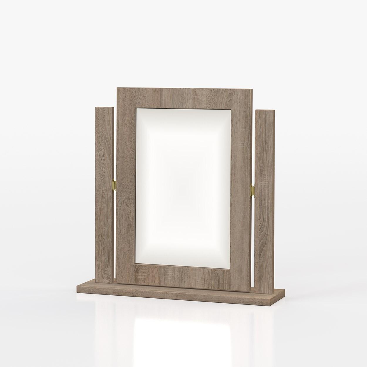 Avenue Truffle Oak Mirror