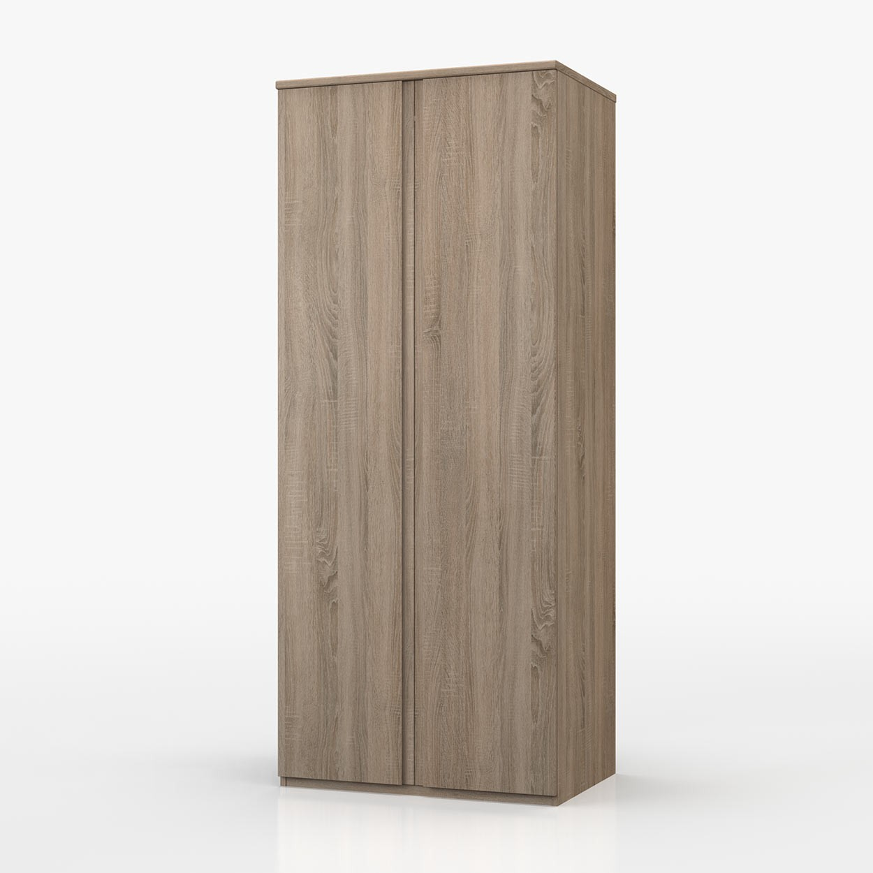 Avenue Truffle Oak 2 Door Wardrobe