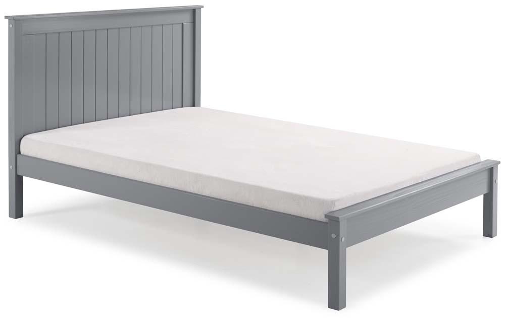 Taurean Grey Bed Frame