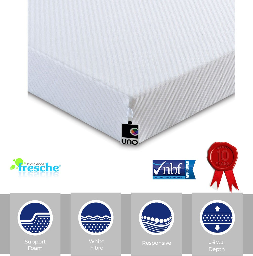 Junior Plus Rolled Foam Mattress