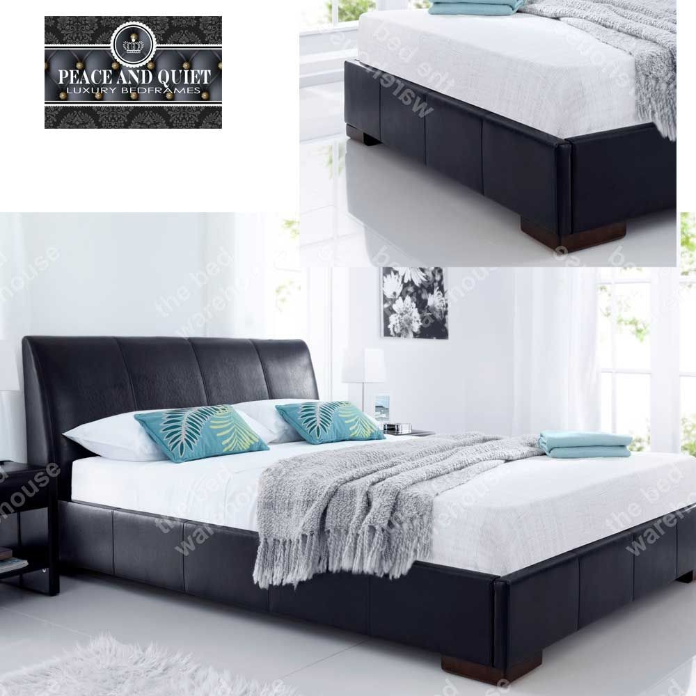 Kendal Brown Double Bed Frame