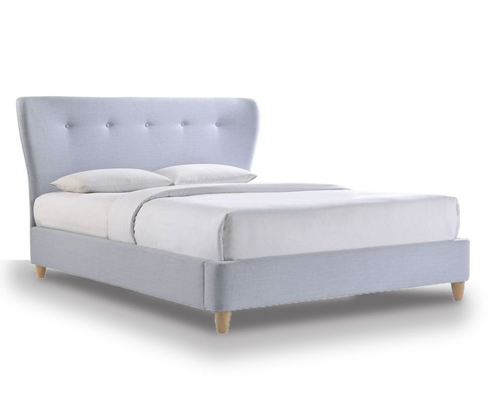 Kendal Pastel Blue Double Bed Frame