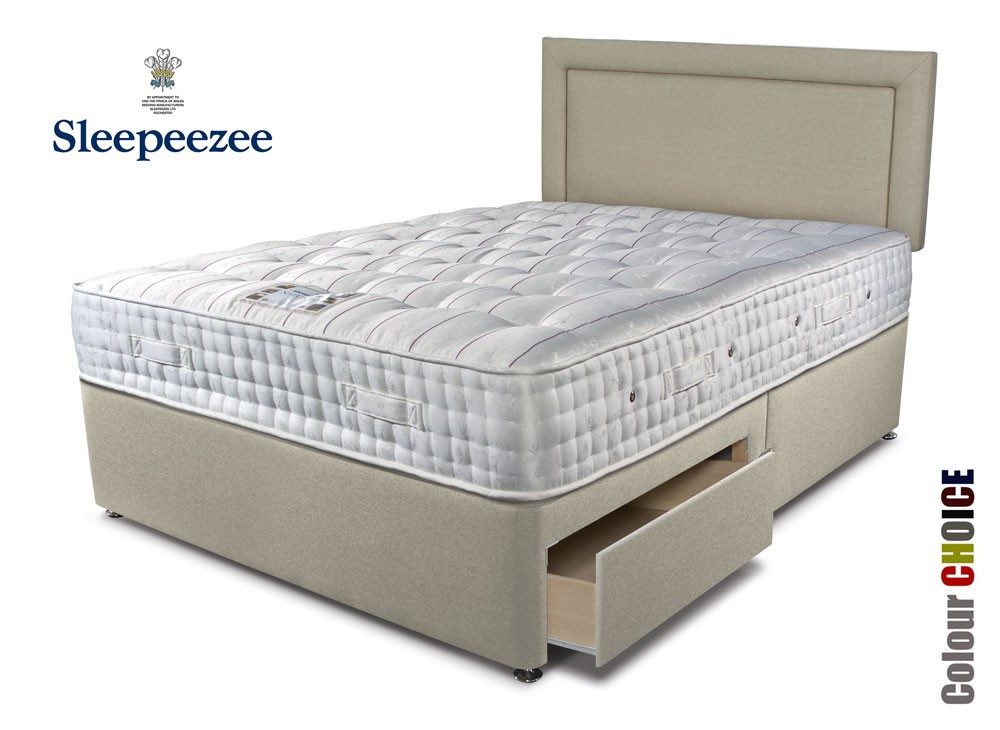 Sleepeezee Kensington 2500 Super Kingsize Divan Bed