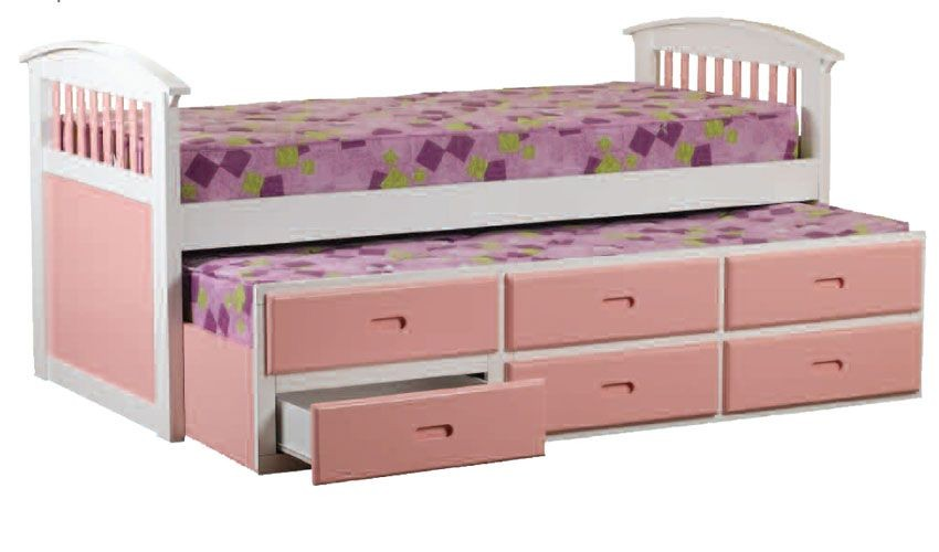 Kipling Pink Captains Bed