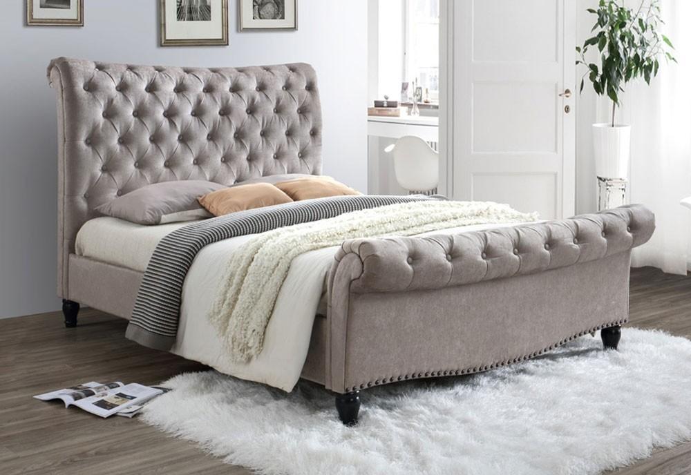 Lark Mink Bed Frame