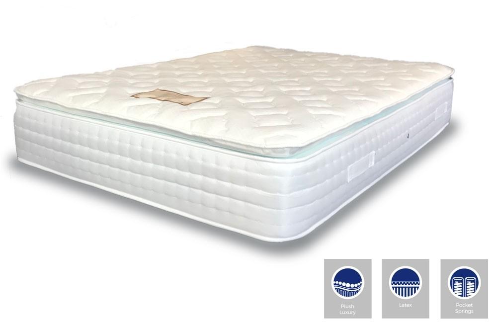 Latex Pocket Pillow Top Mattress