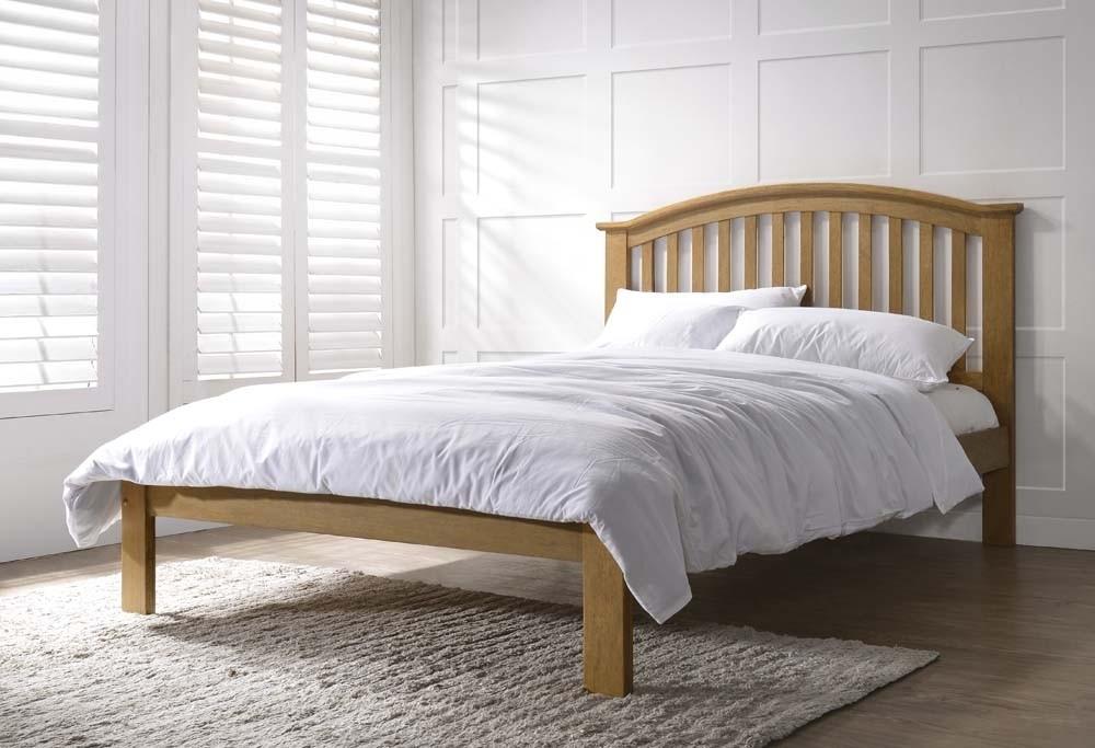 Leigh Oak Bed Frame