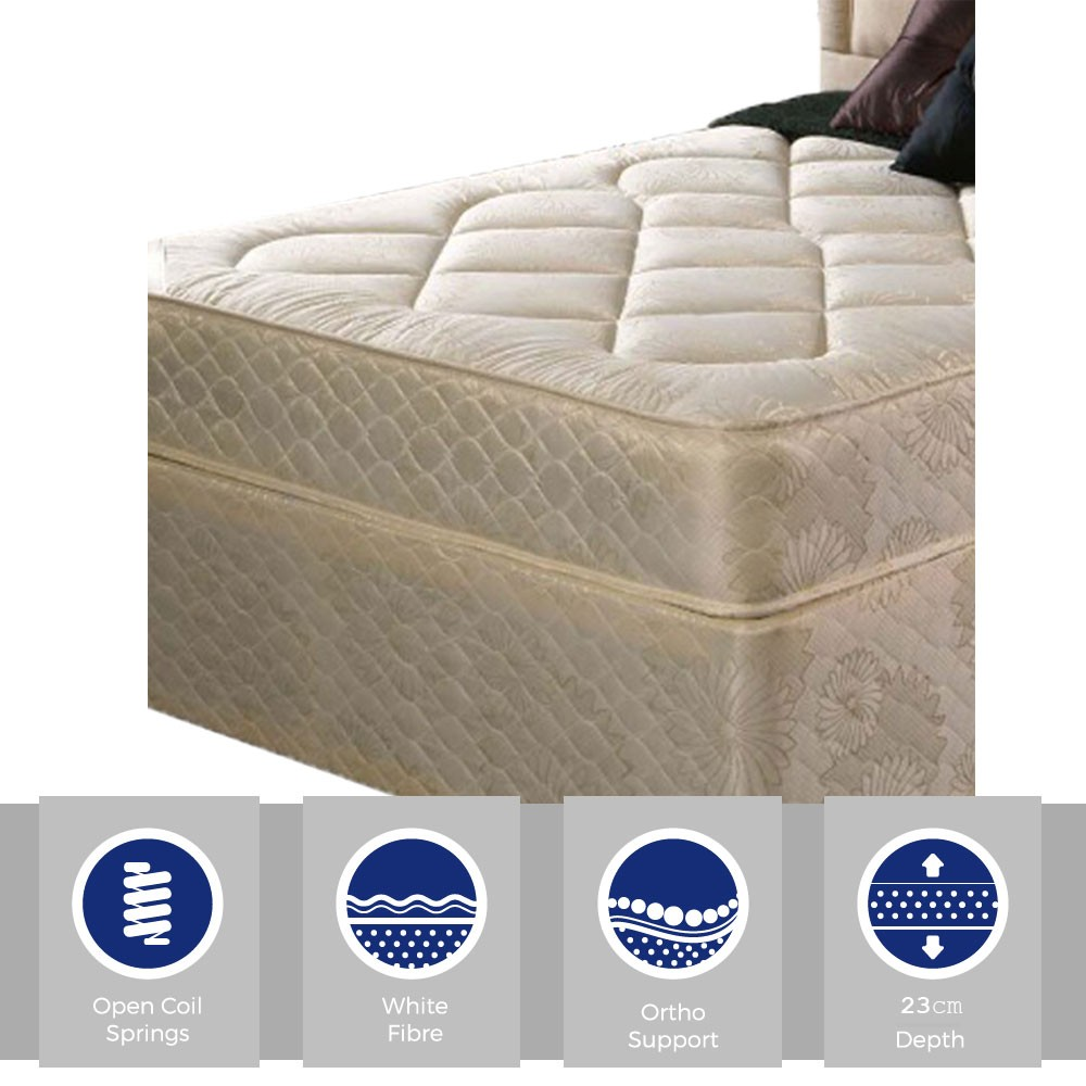 Kozee Orthopaedic Limited Edition Three Quarter Mattress