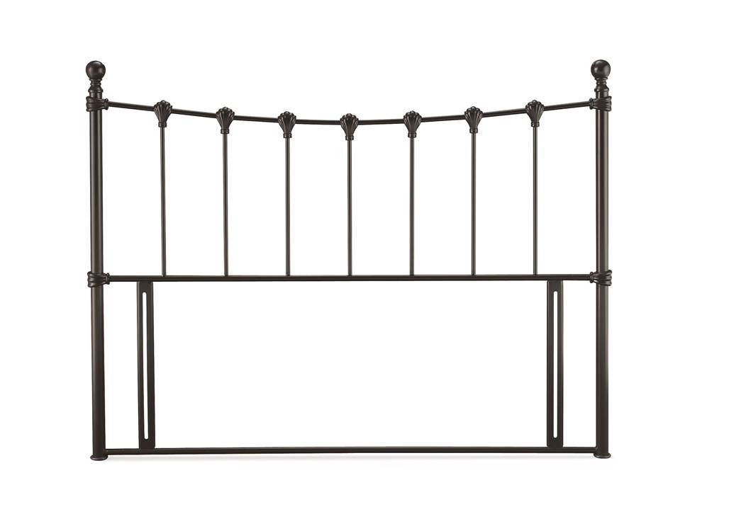 Marseilles Black Super Kingsize Headboard