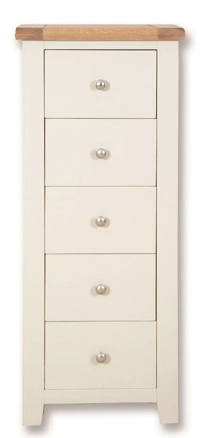Melrose  5 Drawer Tall Chest