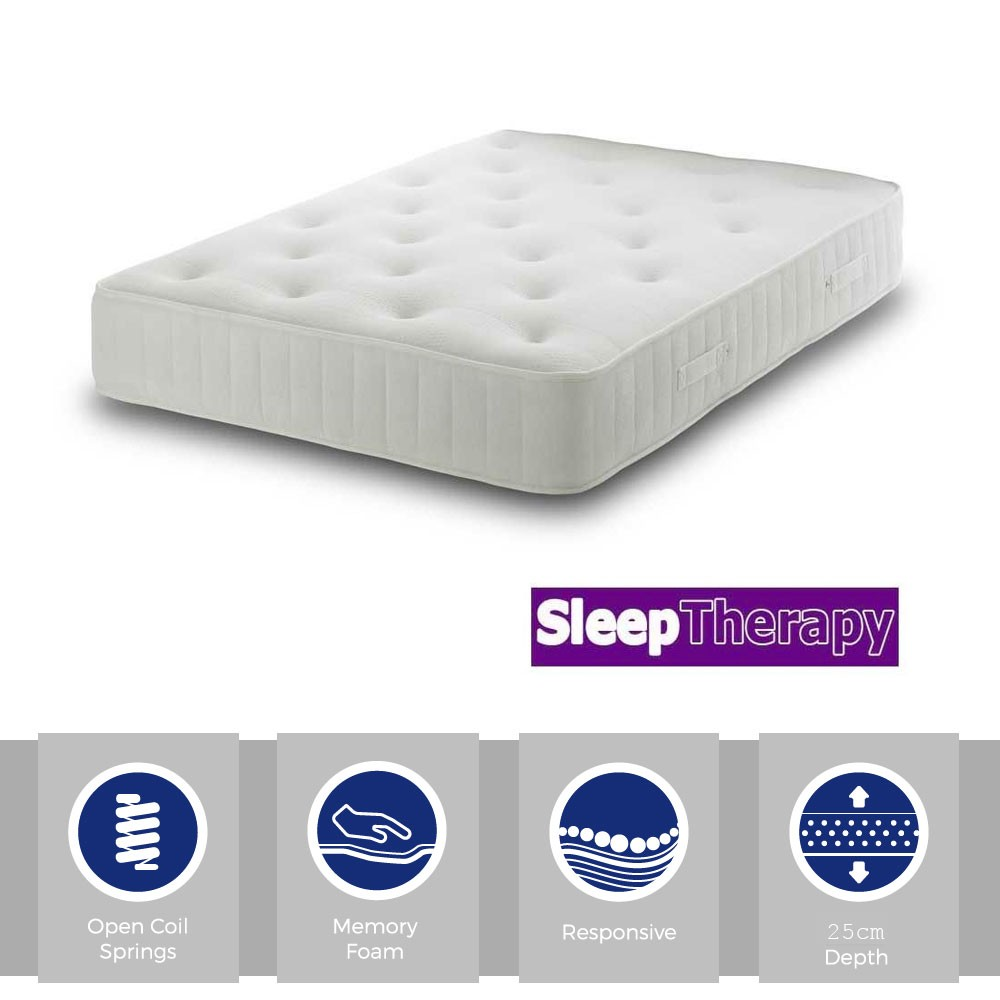 Sleeping Therapy Memory Master Three Quarter Mattress