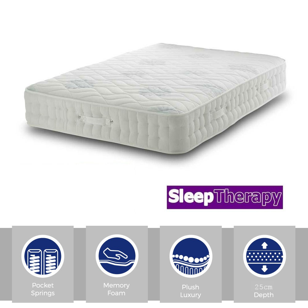 Memory MultiPocket 1400 Three Quarter Mattress