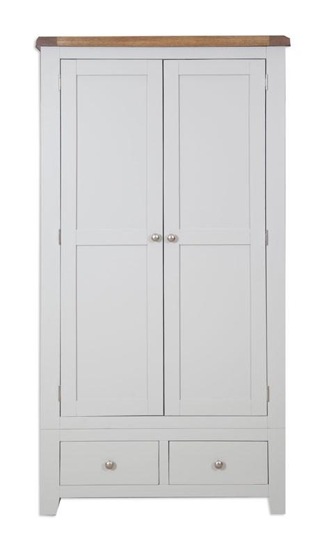 Melrose Grey 2 Door Robe