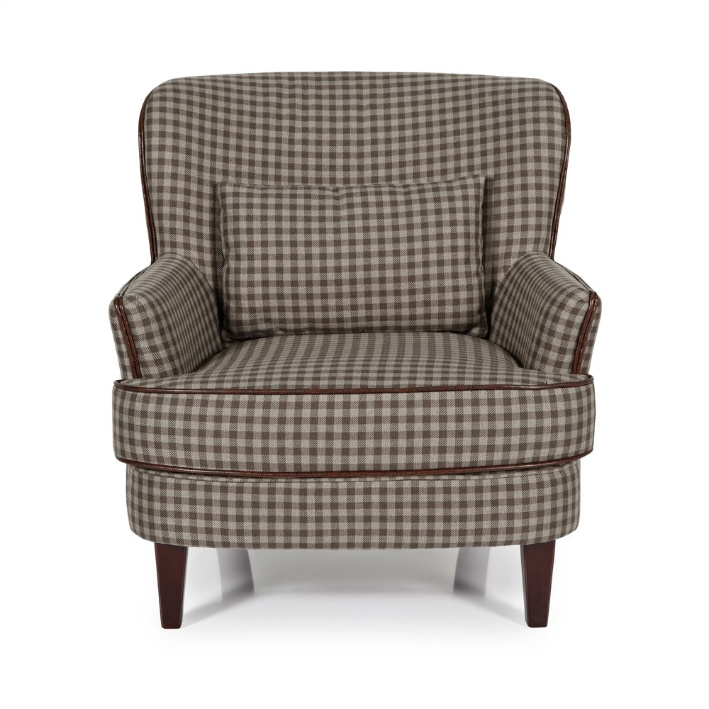 Brown Moffat Occasional Chair