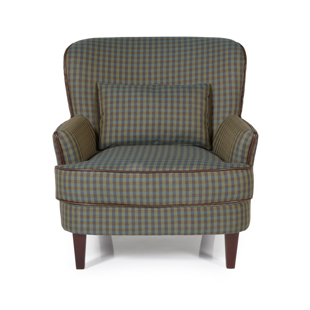Green Moffat Occasional Chair