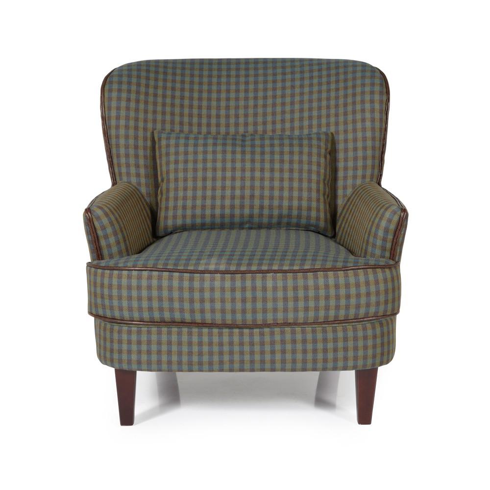 Green Moffat Occasional Chair
