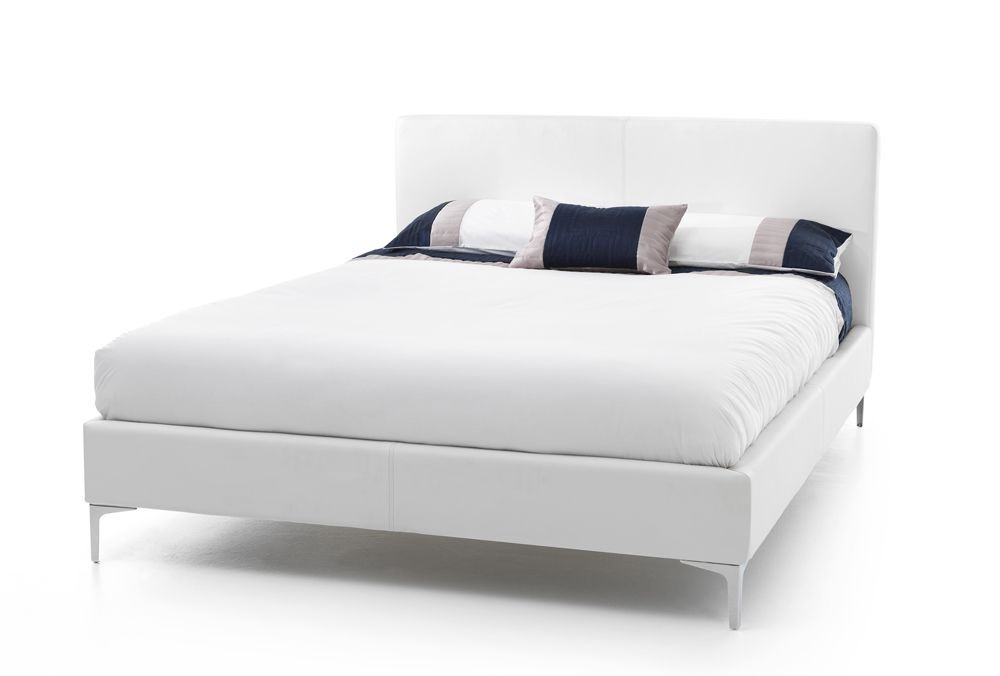 Monsa White Three Quarter Bed Frame