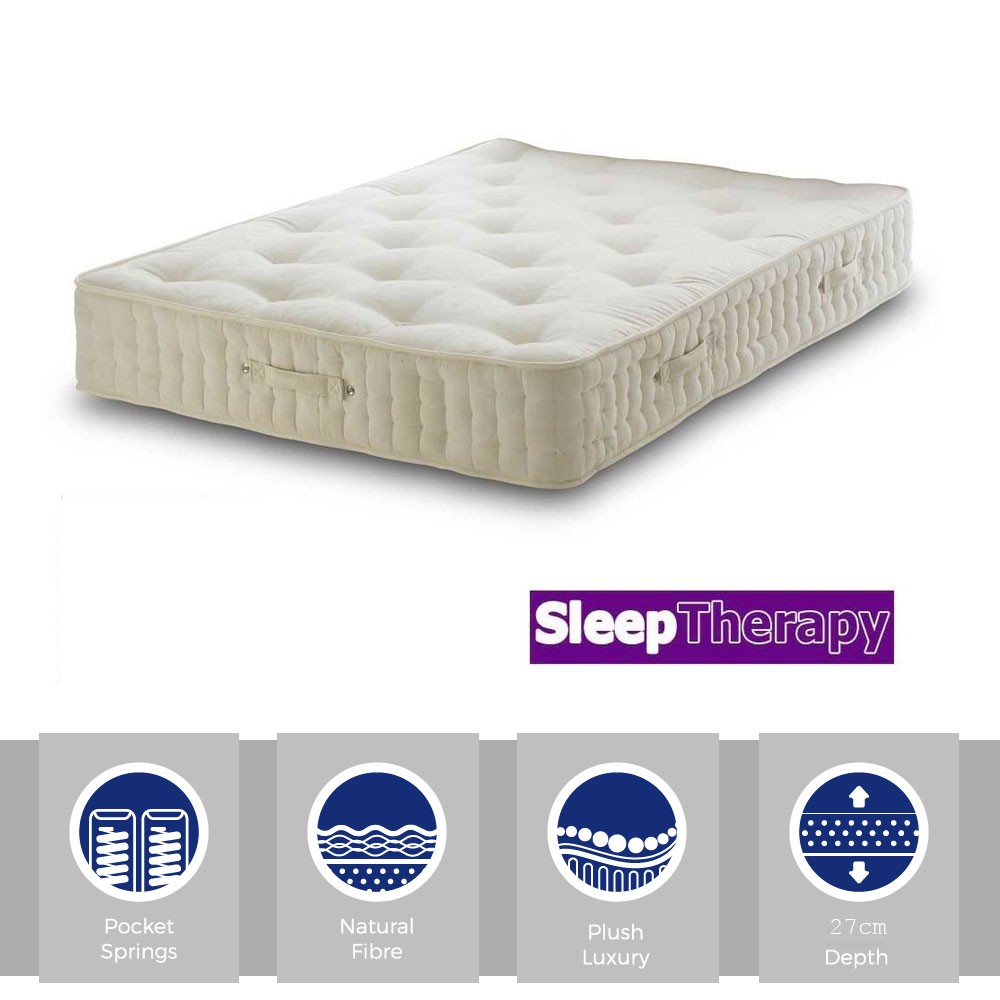 Natural Sleep Pocket 3000 Three Quarter Mattress