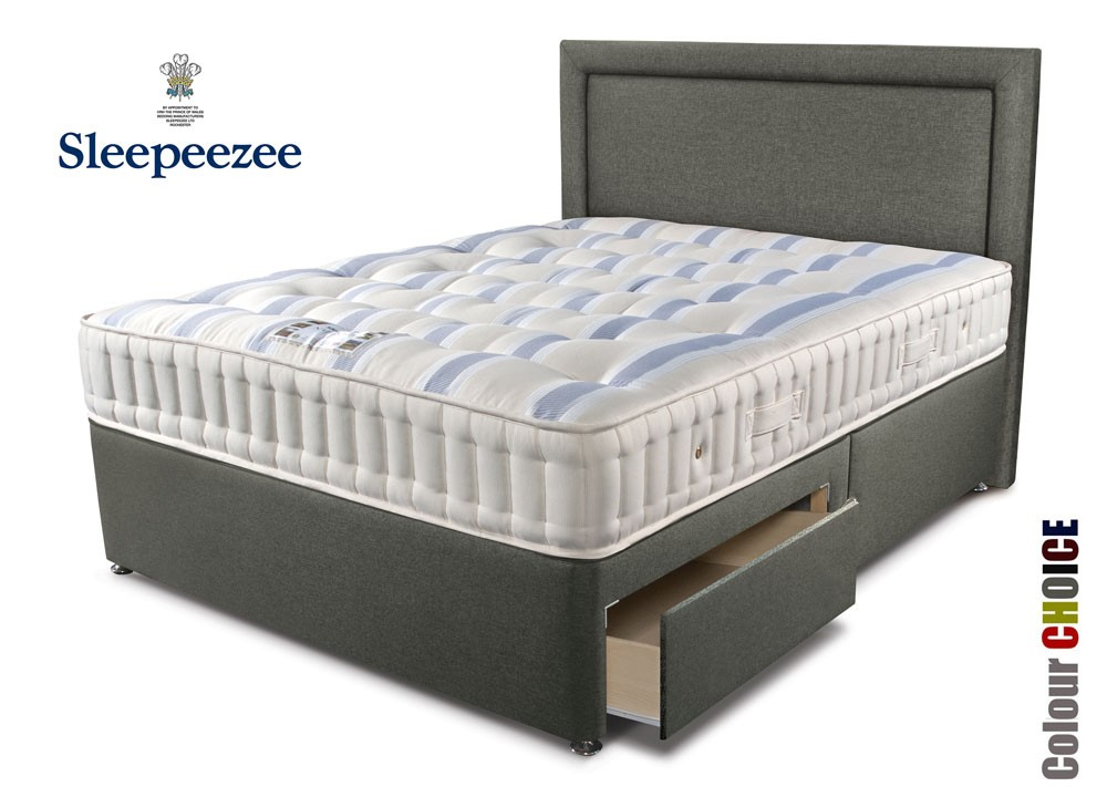 Sleepeezee Naturelle 1200 Super Kingsize Divan Bed