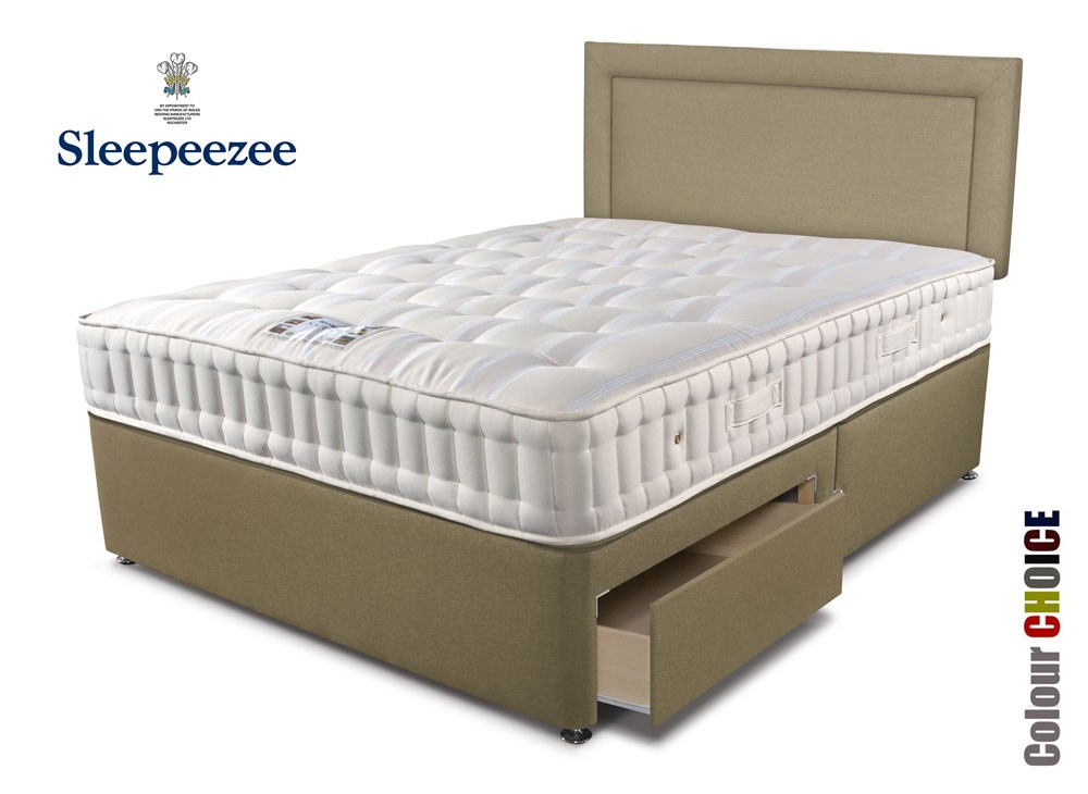 Sleepeezee Naturelle 1400 Super Kingsize Divan Bed