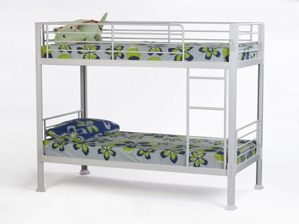 Super Strong White Bunk Bed