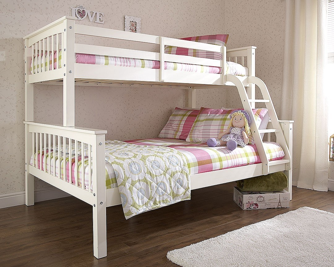 Nova White Trio Bunk