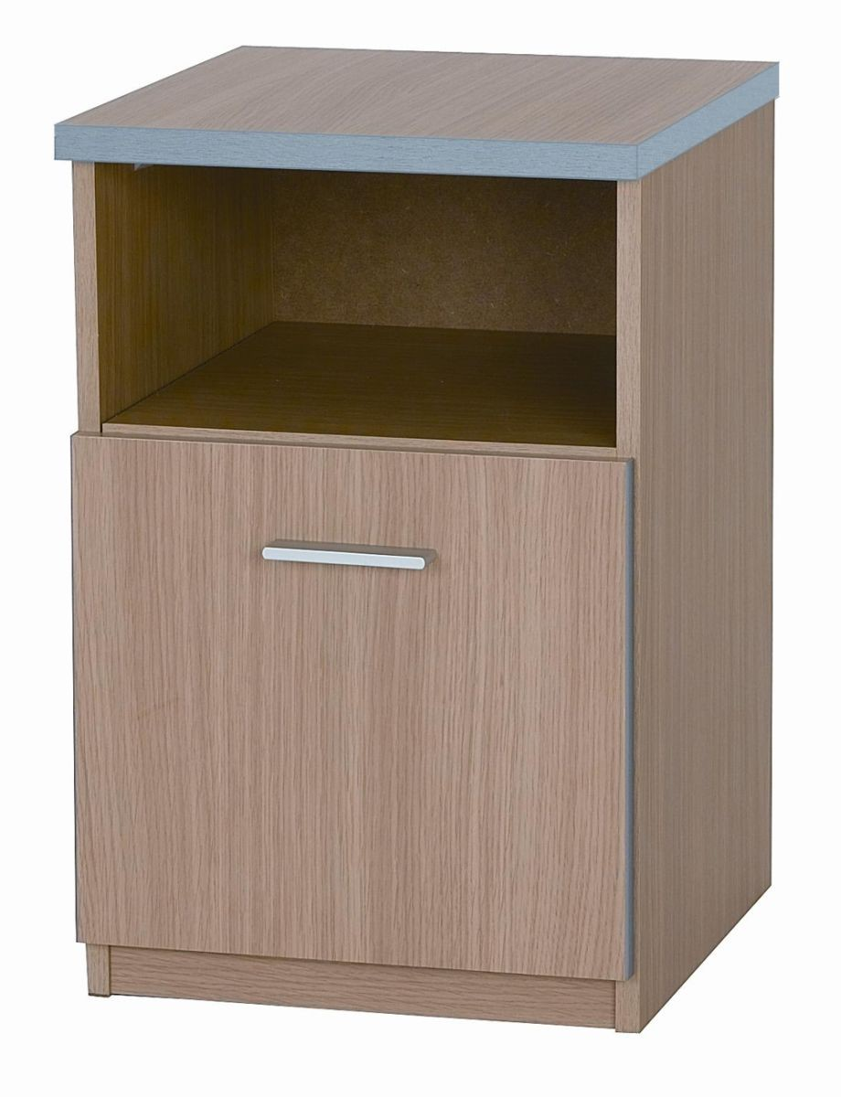 Oak Mode Bedside Locker