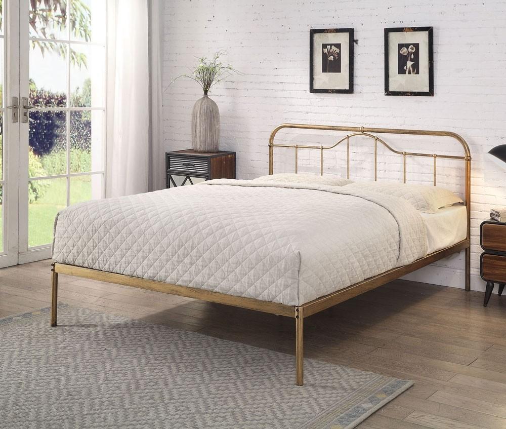Holte Antique Bronze Bed Frame