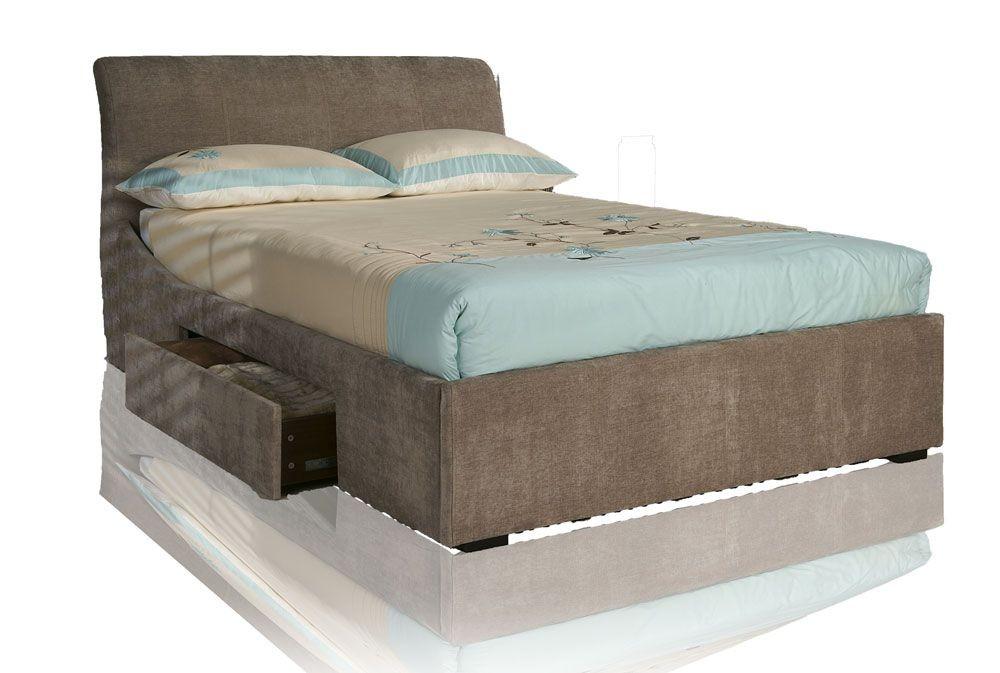 Obelisk Super Kingsize Storage Bed Frame