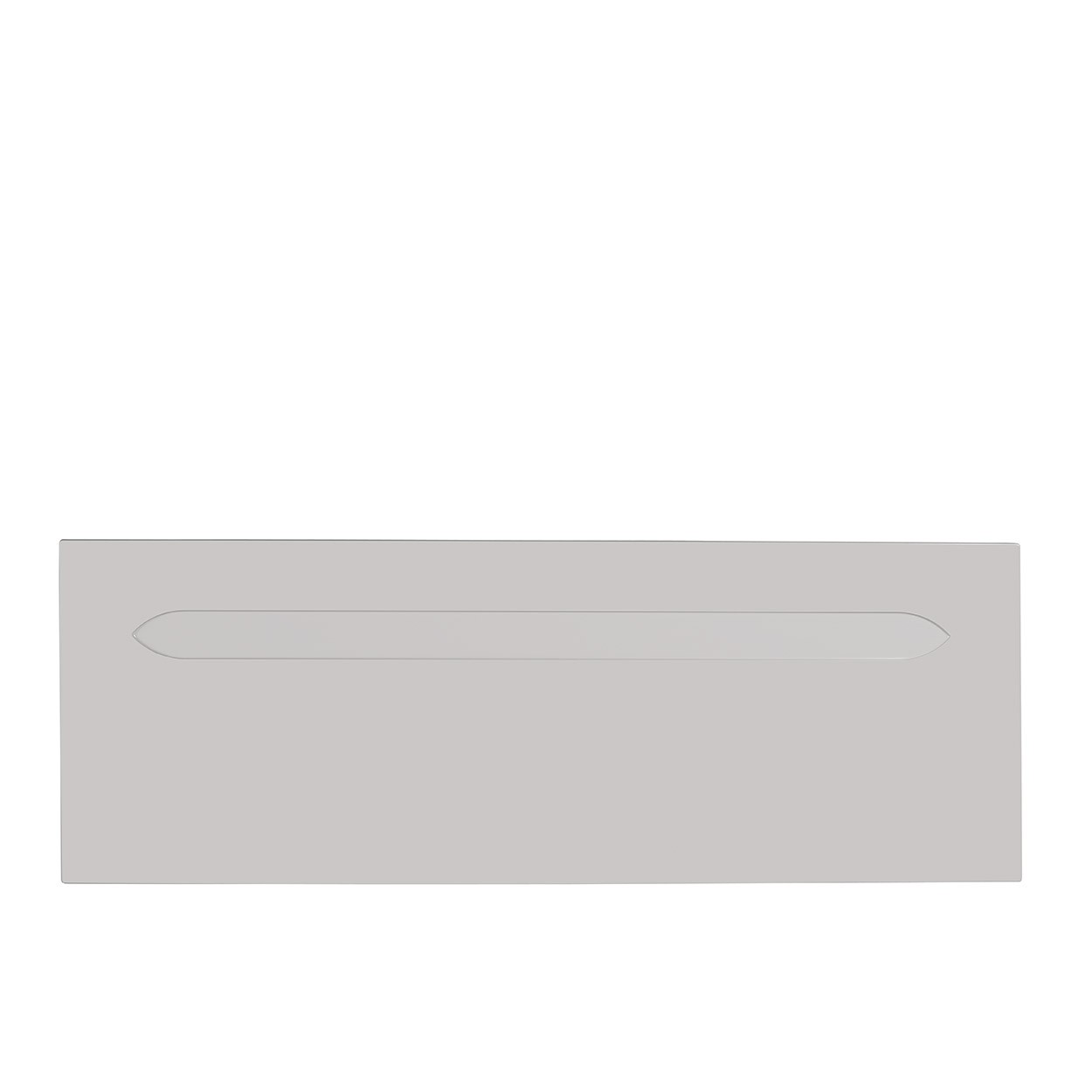 Cashmere Grey High Gloss Headboard