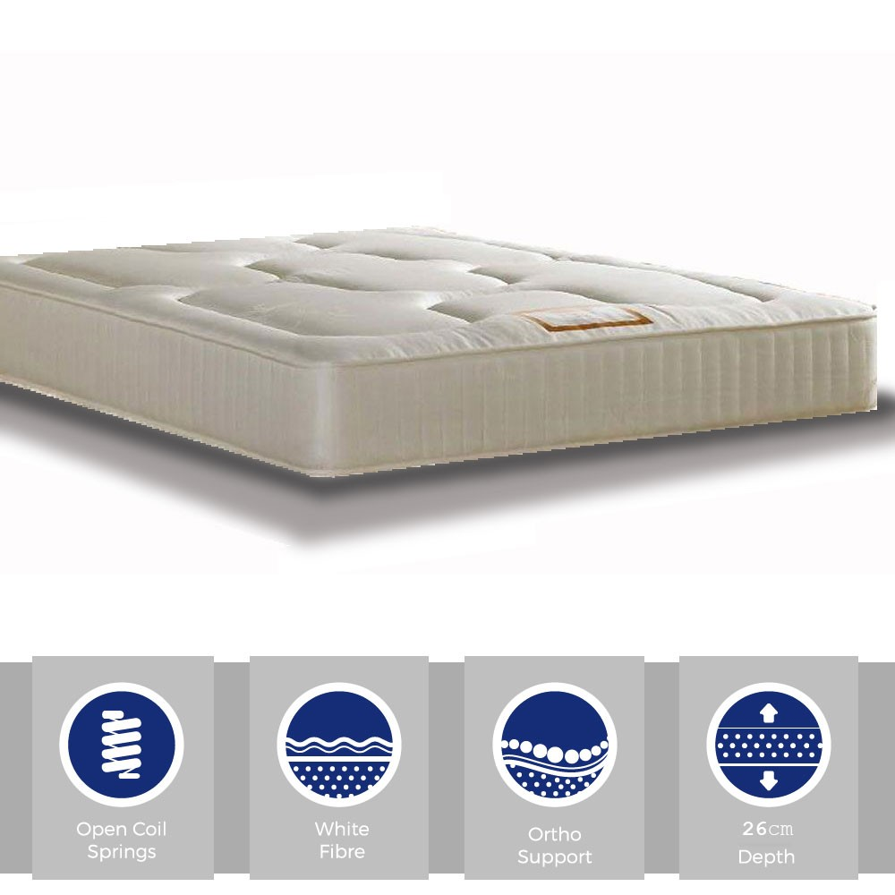 Onyx Luxury Small Single Mattress