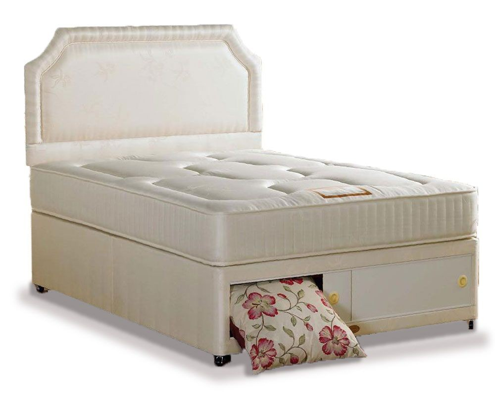 Onyx Luxury Kingsize End Slidestore Divan Bed