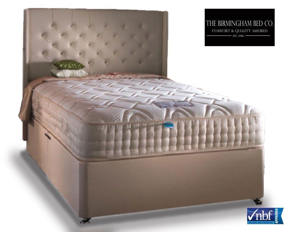 Opulence Pocket 3000 Cool Gel Three Quarter Divan Bed