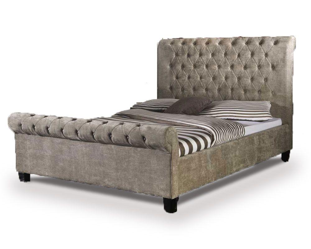 Orbital Mink Super Kingsize Bed Frame
