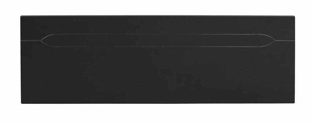 Orient Black Double Headboard