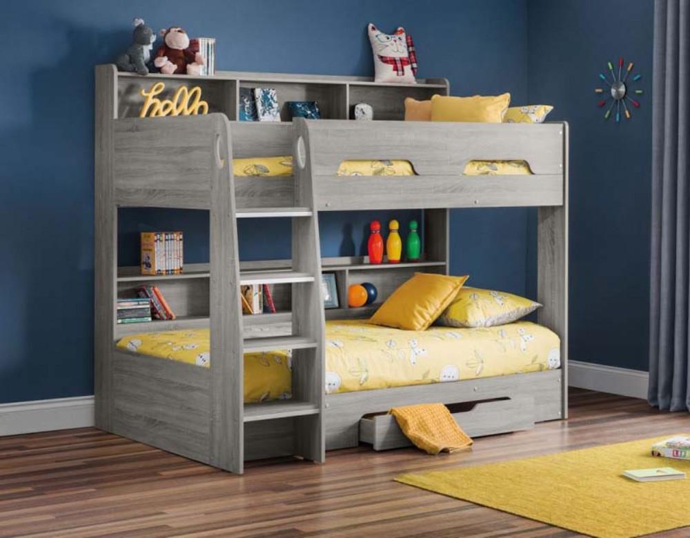 Orbit Grey Oak Bunk Bed