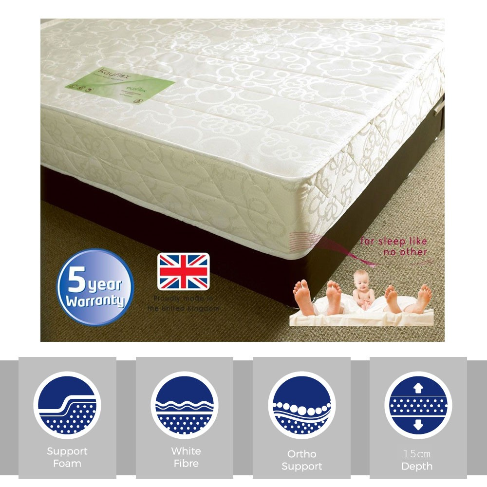 OrthoFlex15 Extra Firm Three Quarter Mattress