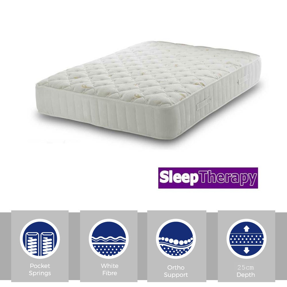 Orthopaedic Pocket 1400 Double Mattress