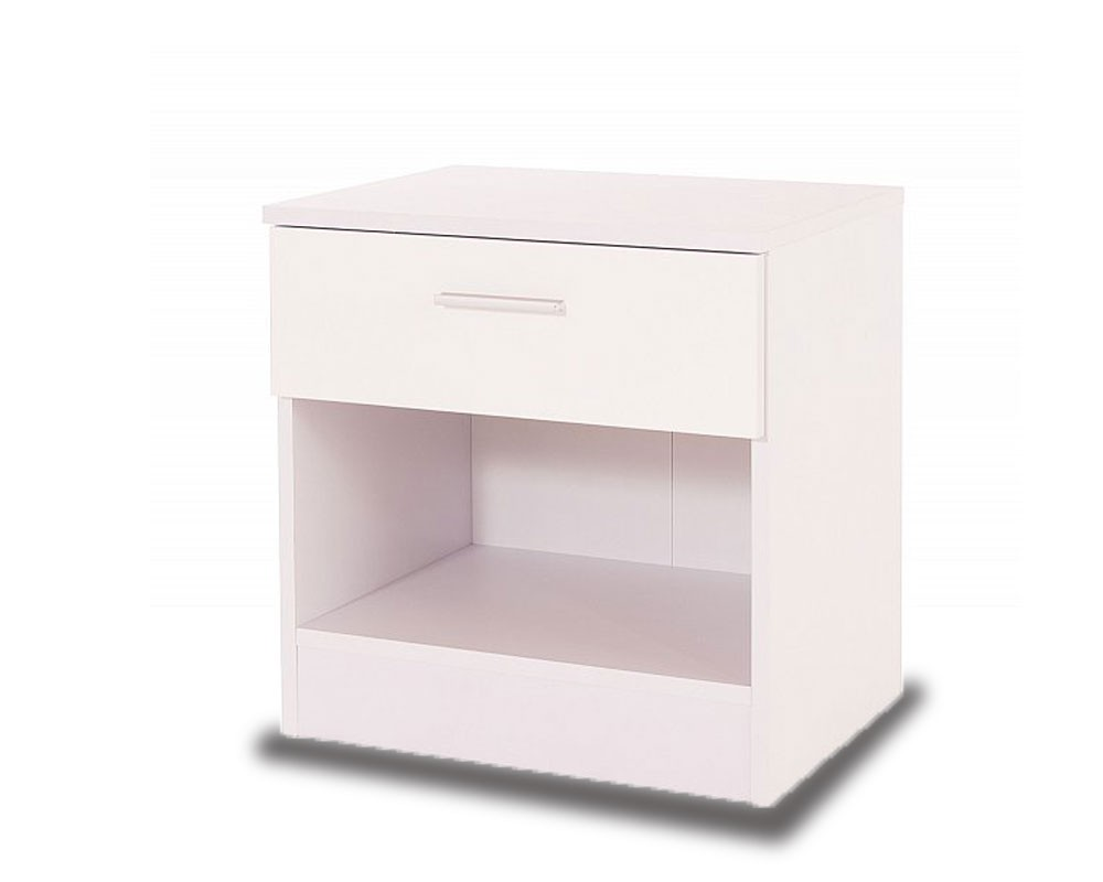 Otto White Bedside Chest
