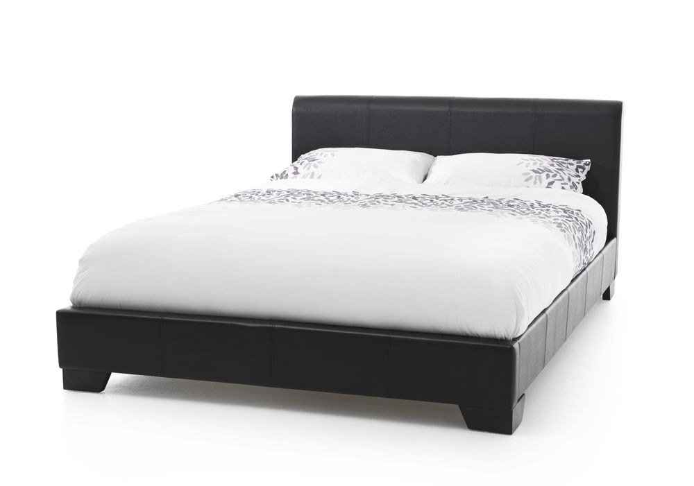 Palma Black Super Kingsize Bed Frame