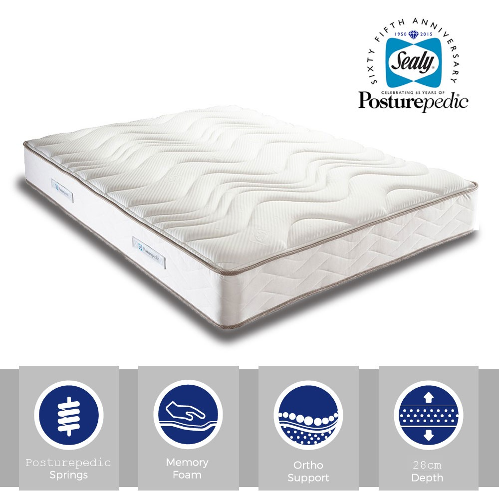 Sealy Pearl Memory Single Mattress